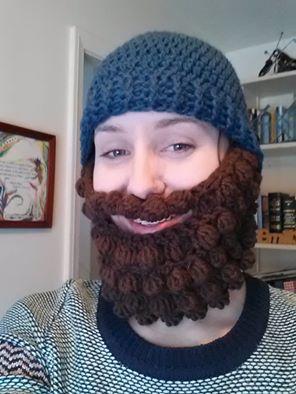 Free Crochet Pattern For Hat And Beard : Crochet Beard Beanie Pattern Free galleryhip.com - The ...